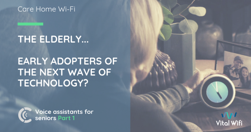 Older adults are the early adopters of the next wave of technology
